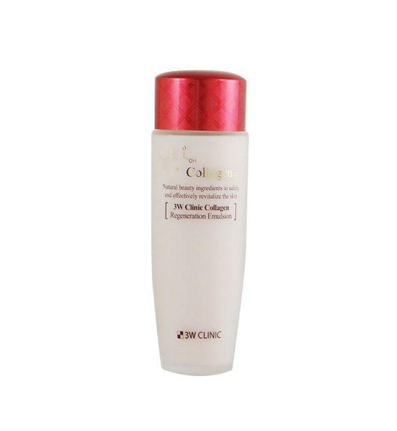 Sữa Dưỡng Da Chống Lão Hóa 3W Clinic Collagen Regeneration Emulsion (150 ml)