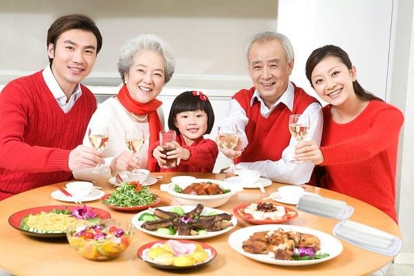 hồng sâm chăm sóc sức khỏe gia đình